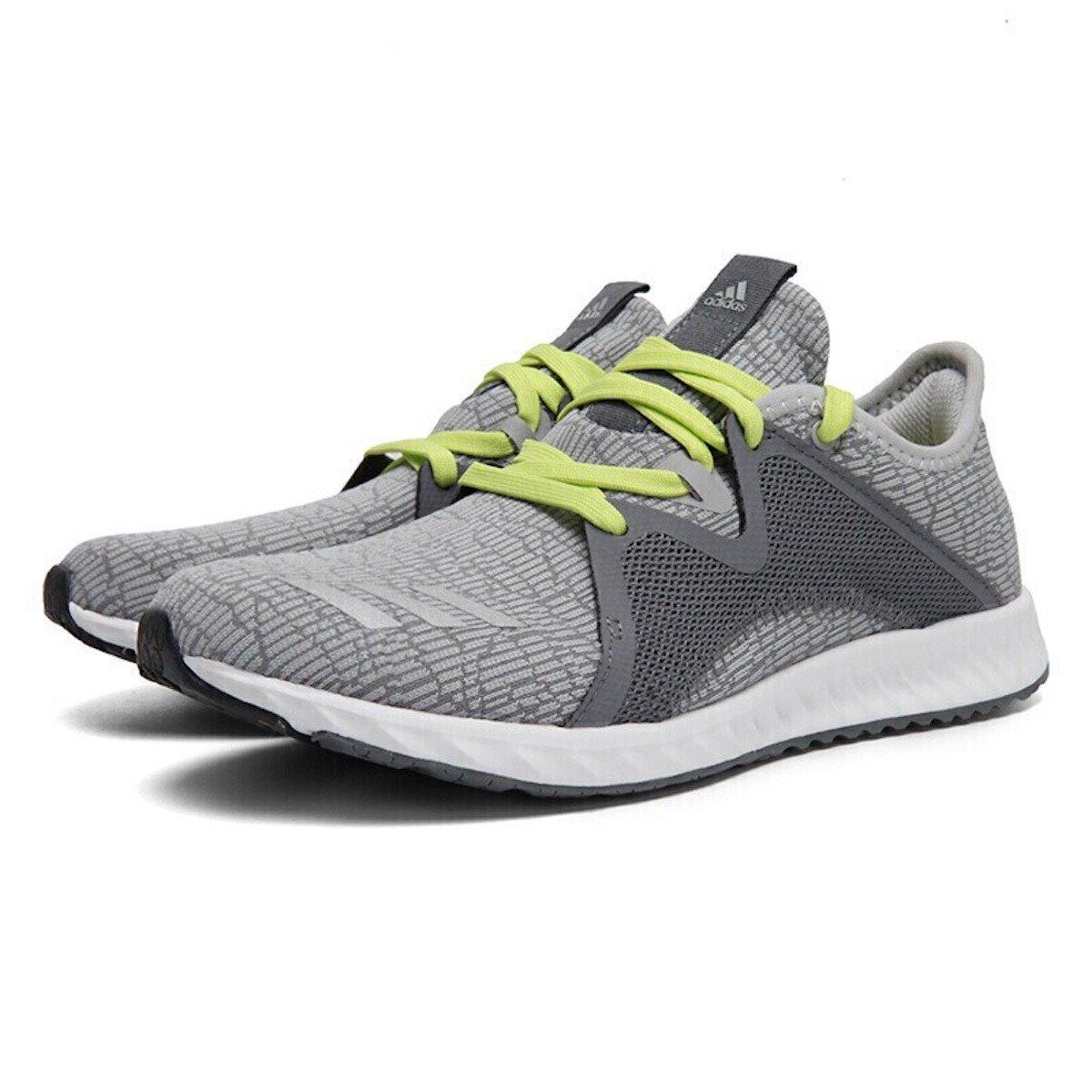 adidas Women's Edge Lux 2 W B07DD28SGT 8 B(M) US|Grey/Lime Green