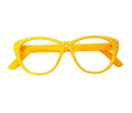 136a35a62b Amazon.com  My Brittany s Yellow Dot Glasses Compatible with American Girl  Dolls - 18 Inch Doll Glasses  Toys   Games