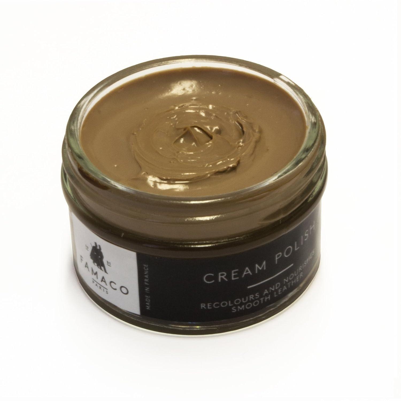 Famaco Cream Polish, Lustra Zapatos Unisex Adulto, 50 ml Amarillo (Yellow) F1470