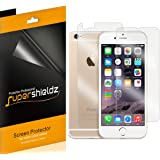 iPhone 6 6S [Front + Back] Full Body Screen Protector, SUPERSHIELDZ Apple iPhone 6 6S High Definition (HD) Clear Screen Protectors -Lifetime Replacements Warranty [3 Front and 3 back] - Retail Packaging