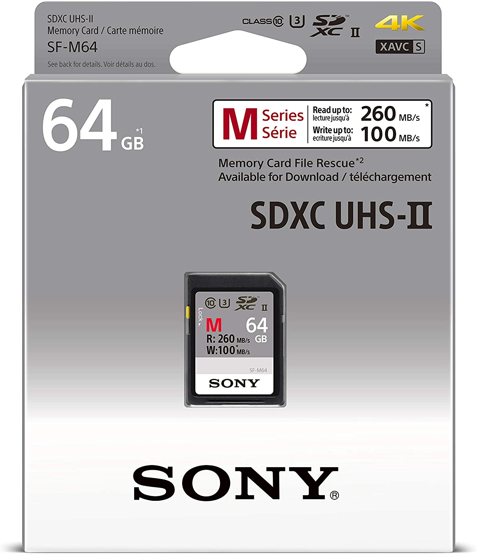 64GB Memory card for Sony Walkman NW-A25HN Music PlayermicroSDXC New