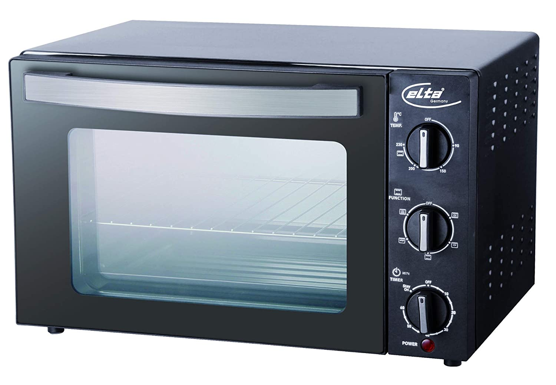 Elta MBO-1500.1 - Mini horno (20 L, cristal de seguridad doble GS ...