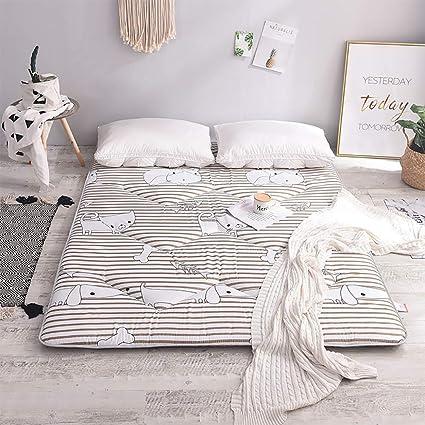FUMT Colchones,Plegable Esteras del Tatami Protector de colchón Estera de meditación Almohadillas de colchón