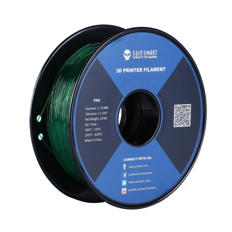 SainSmart TPU 3D-Drucker Filament, 1,75 mm, 0,8 kg, Living Coral