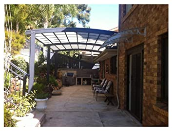 Metal Outdoor Patio Canopy Awning Garden Awning Porch Roof Courtyard Cover  Aluminum Patio Shade SunShield Roof
