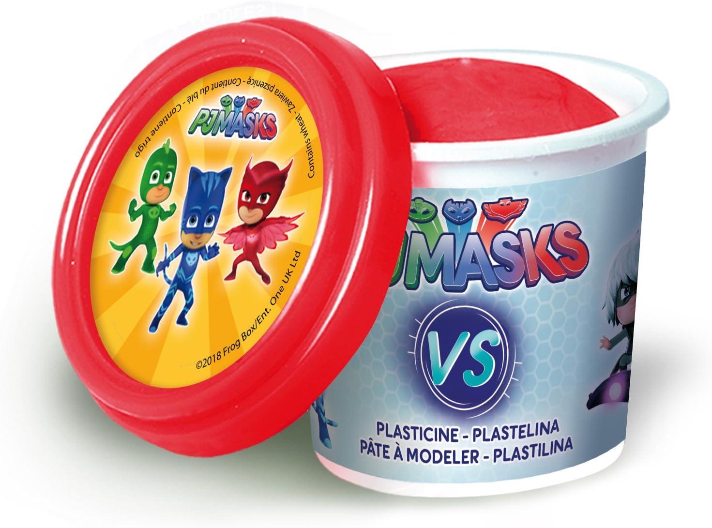 Canal Toys – PJ máscaras 4 Pots De Plastilina + 2 Bonus, Pjc 004 , color/modelo surtido
