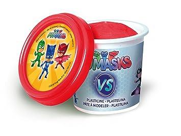 Canal Toys - PJ máscaras 4 Pots De Plastilina + 2 Bonus, Pjc 004: Amazon.es: Juguetes y juegos
