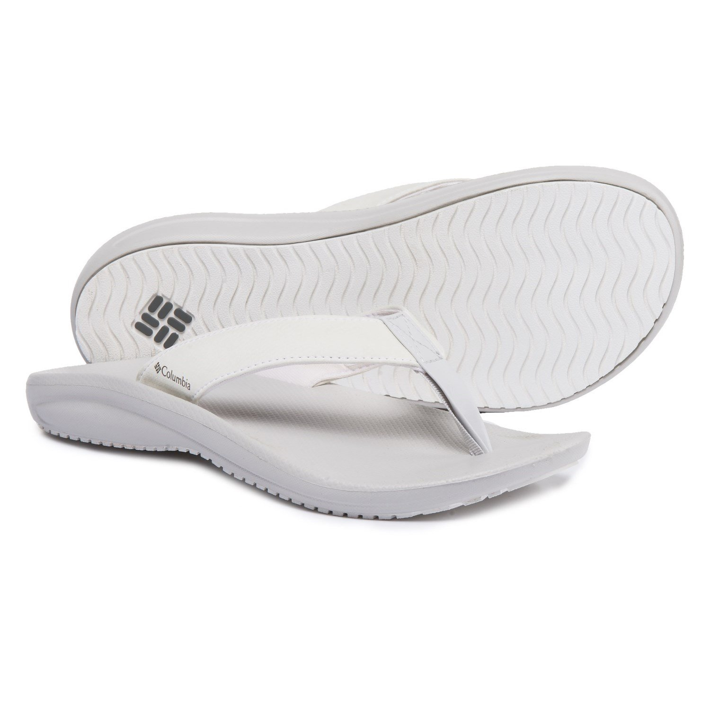 new products 6cc32 495bc Columbia Women s Barraca Flip Athletic Sandal Sandal Sandal B01HEHPN80  11 White Ti Grey Steel 55cfce