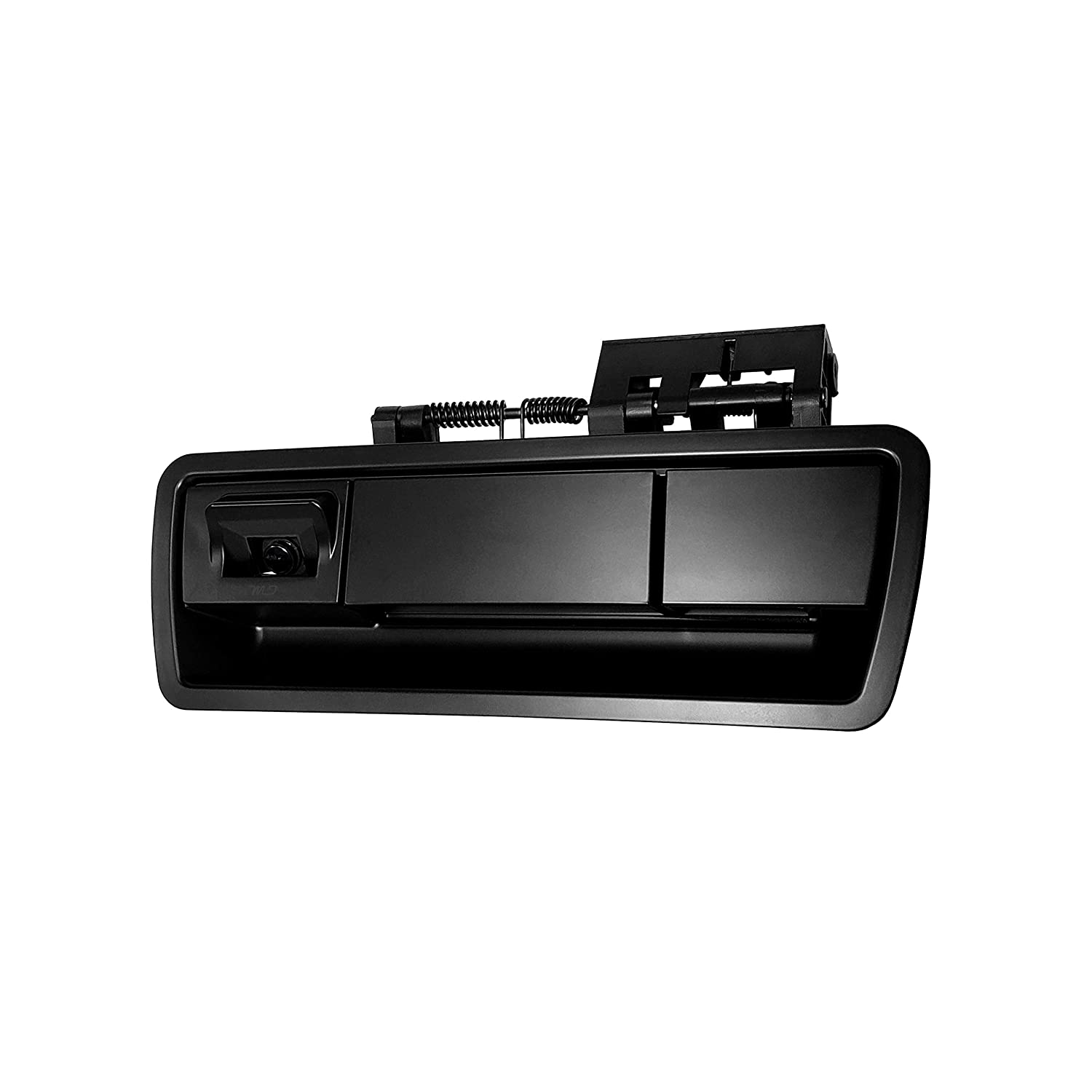 Master Tailgaters Black Tailgate Handle with Backup Camera Replacement for Nissan Armada 2004-2015