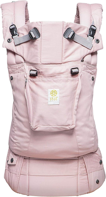 LÍLLÉbaby - Portabebés ergonómico de seis posiciones para bebé y niño, color rosa