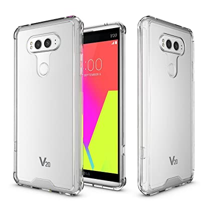 new product 0e5f8 11afc LG V20 Clear Armor Case, AICOO Ultra Slim Hybrid Transparent Clear Scratch  Resistant Hard Acrylic Back Cover + Shockproof Tpu Bumper Protective Phone  ...