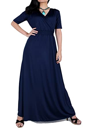 Plus Size Maxi Dress Party Wedding Guest Formal Long Evening Gown Ball Gala  (XL 7a0d05240