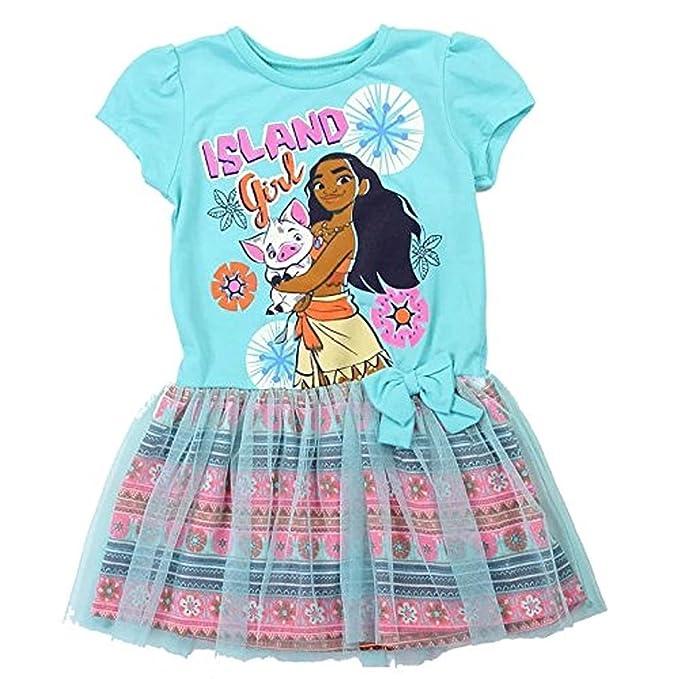 Disney Moana Girls T-Shirt and Bike Shorts Set