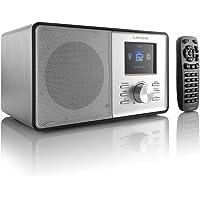 Lenco CR-2003 Internet & FM Radio Twin Alarms Sleep Timer Remote Control Mains Operated