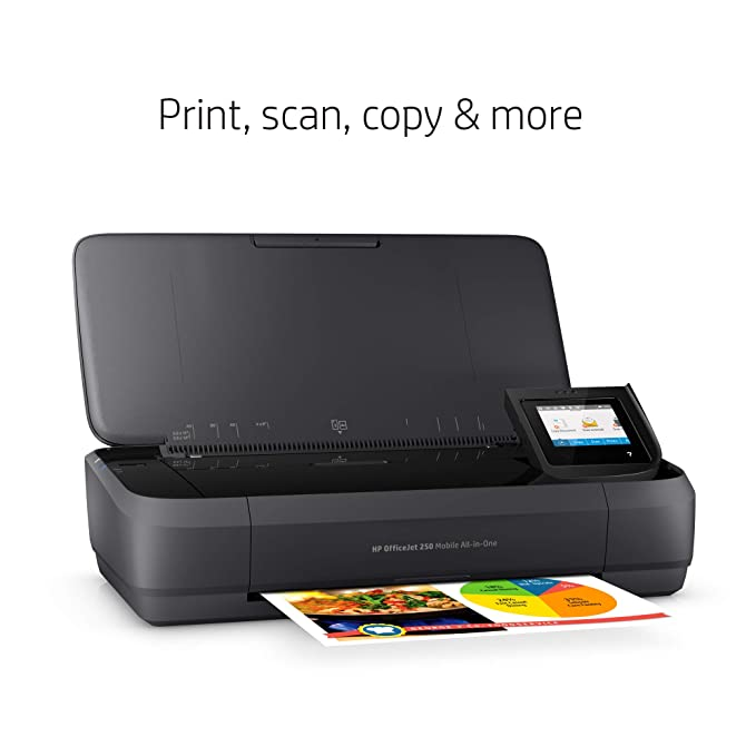 Amazon.com: HP OfficeJet 250 All-in-One - Impresora portátil ...