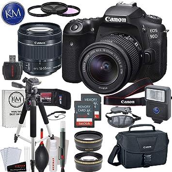 Canon EOS 90D cámara réflex digital con lente de 18-55 mm con ...