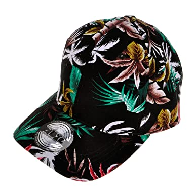 c702244ec35 Women s New Baseball Cap Flower Floral Pattern Adjust Sport Outdoor Hat  (Black)