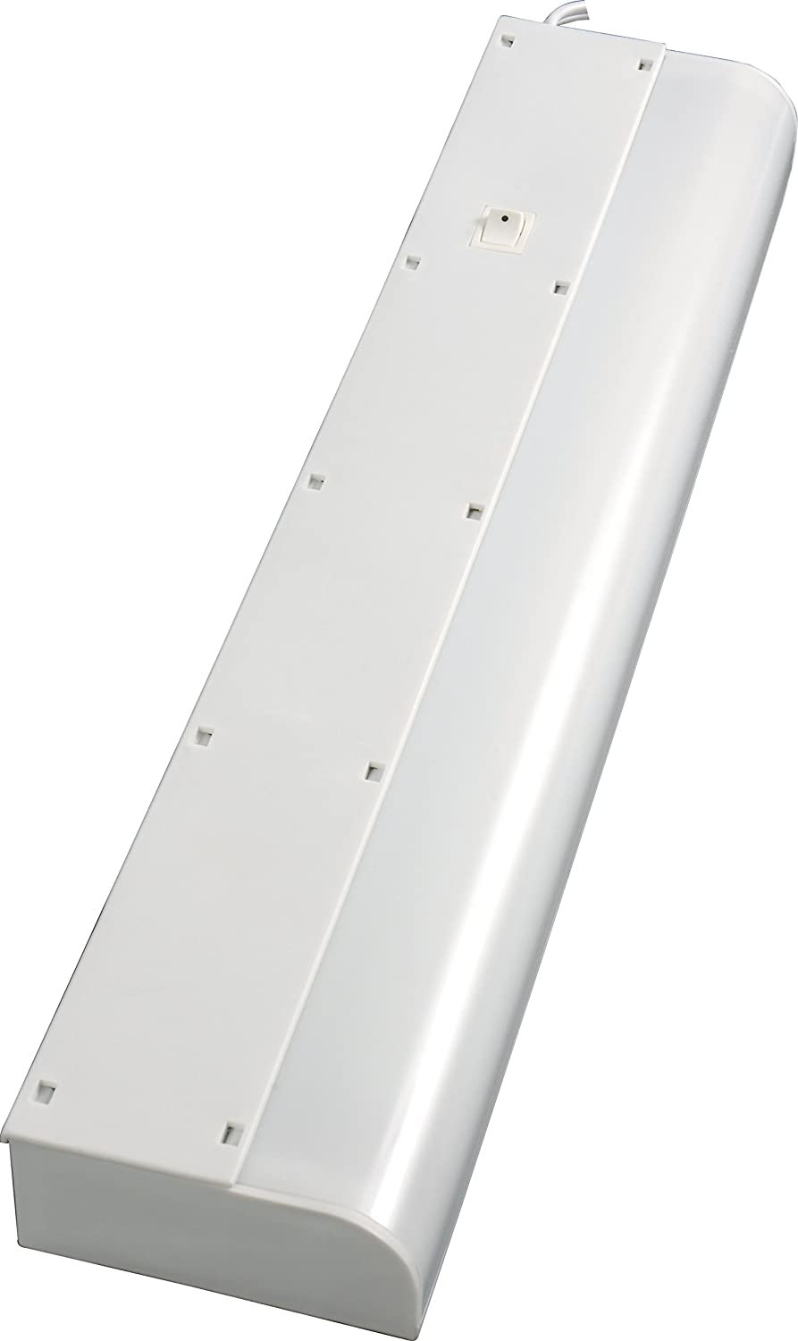 Amazon.com: GE 16466 Basic Fluorescent Light Fixture, 18-Inch, Plug ...