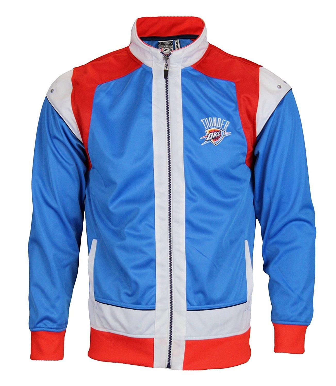 Oklahoma City Thunder NBA Big Boys Youth Walt Full Zipジャケット、ブルー   B00V8RLUS0