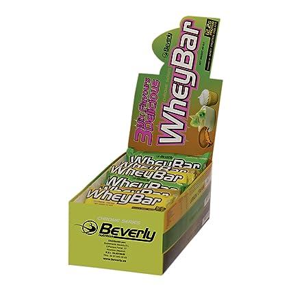 Beverly Nutrition Exclusive para ABSat40 3 Mix Delicious Whey Bar - contiene vitaminas, proteínas y