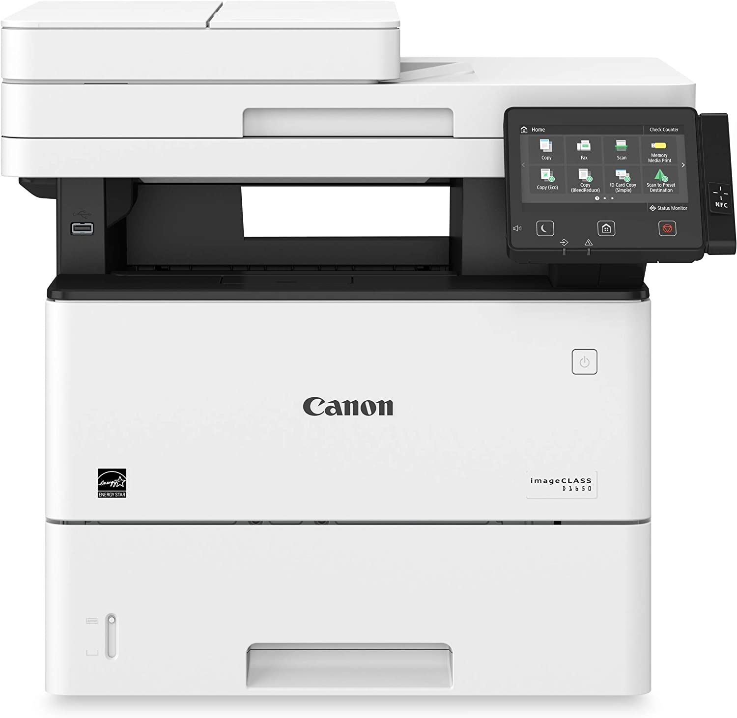 Canon imageCLASS D1650 (2223C023) All-in-One, Wireless Laser Printer with AirPrint, 45 Pages Per Minute and 3 Year Warranty, Amazon Dash Replenishment Ready