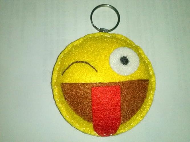 Llavero emoji: Amazon.es: Handmade