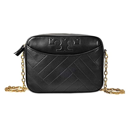 27b9c9278ff3 Amazon.com  Tory Burch Alexa Ladies Medium Leather Camera Bag 39011001   Clothing