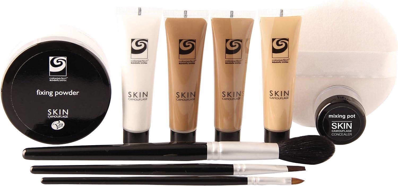 Río del camuflaje de la piel y el tatuaje Corrector Set Maquillaje