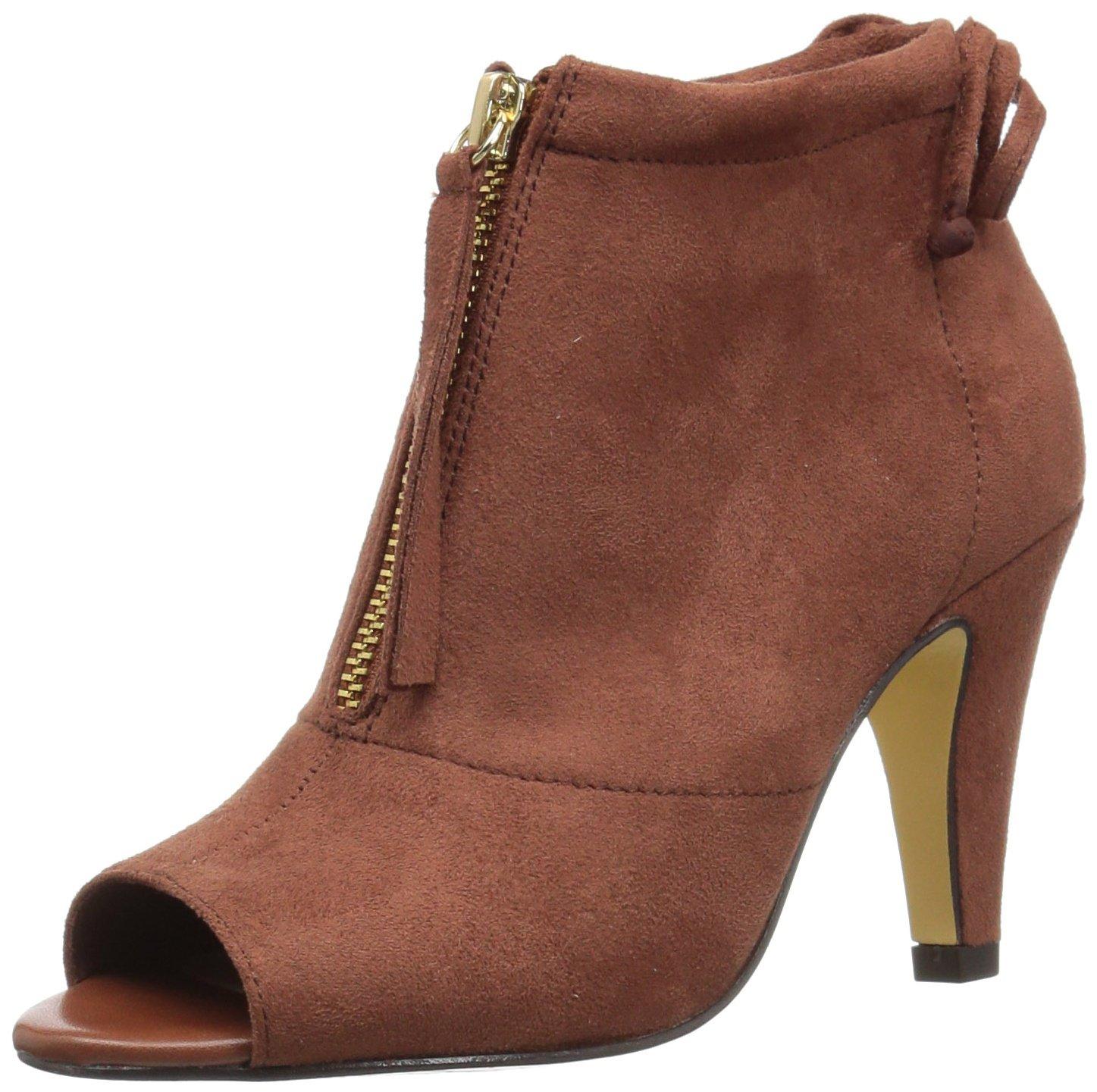Bella Vita Women's Nicky Ii Ankle Bootie B0731SCK6P 7.5 N US|Camel Super Suede