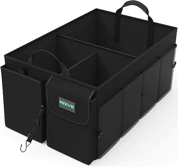 Trunk Organizer - Durable Oxford Fabric (Black)