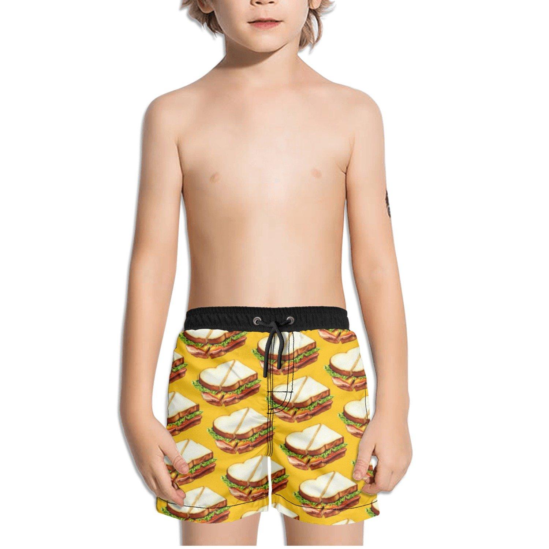 Ouxioaz Boys Swim Trunk Art Prints Pattern Beach Board Shorts
