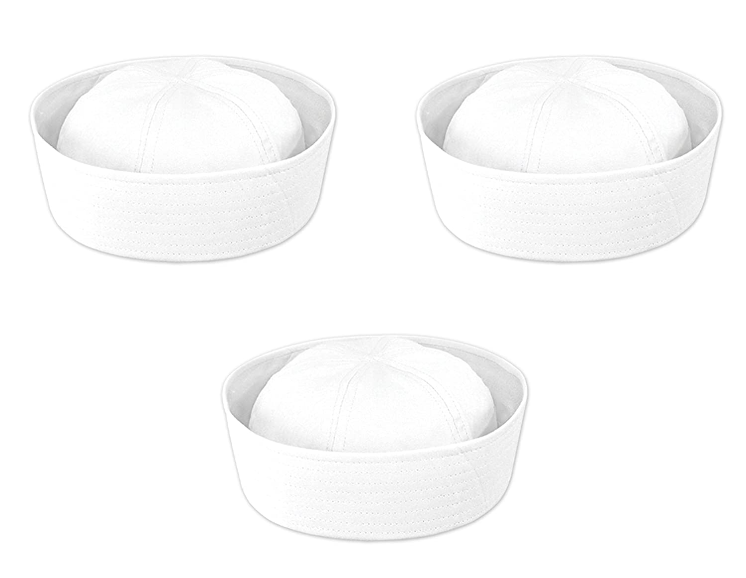Amazon.com  Beistle 60755 12-Piece Sailor Hat  Kitchen   Dining 6f9e31b92356
