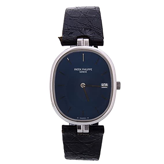 PATEK PHILIPPE Golden Ellipse cuarzo Mens Reloj 3930 (Certificado) de segunda mano