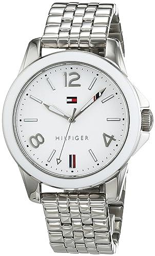 8df17c8a057a Tommy Hilfiger Casual Sport Mujer-Reloj analógico de Cuarzo de Acero  Inoxidable 1781678  Amazon.es  Relojes