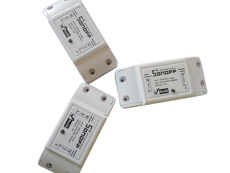 swikee Sonoff Intelligenter WiFi-Schalter, Wireless WiFi ...