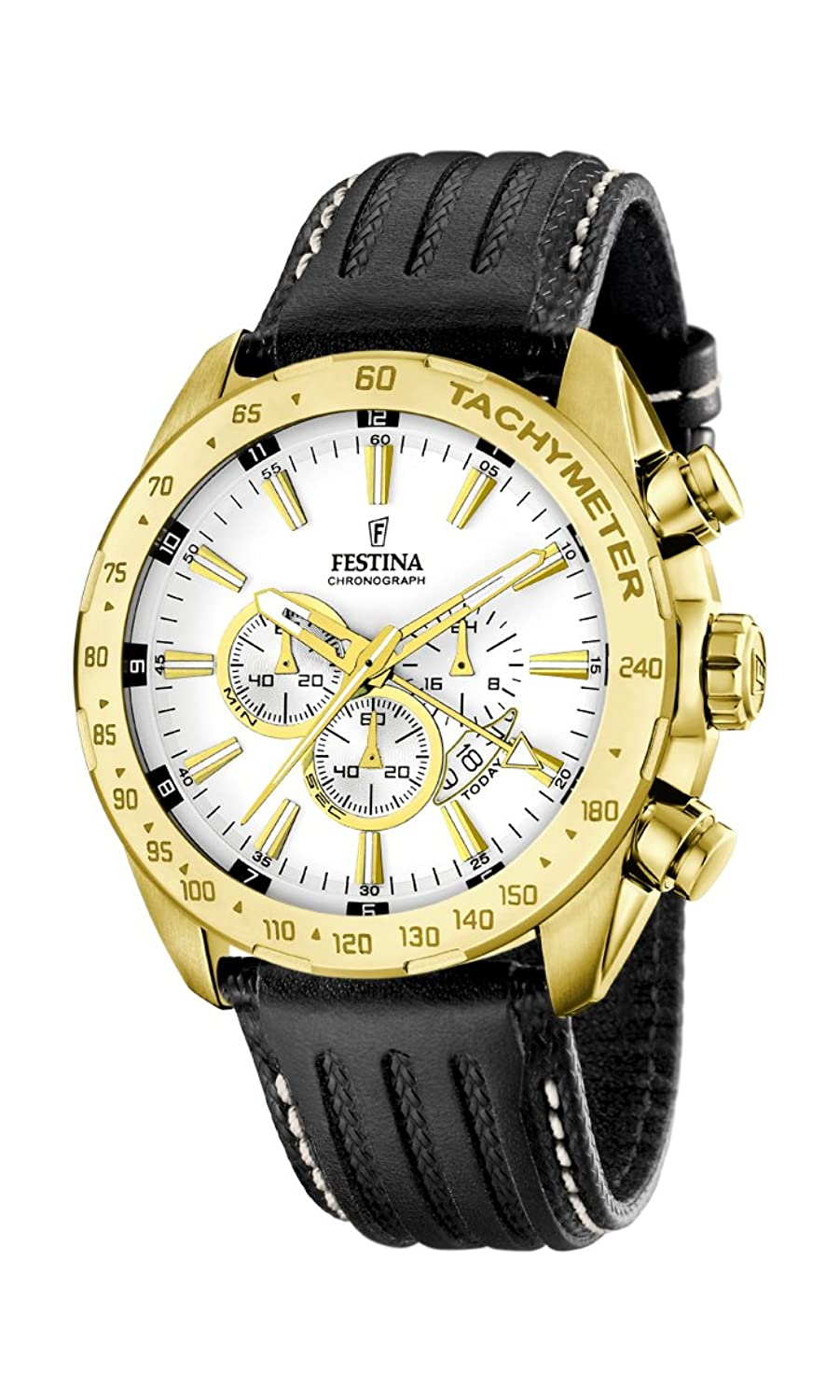 Amazon.com: Festina Sport F16879/1 Mens Chronograph Classic & Simple: Watches