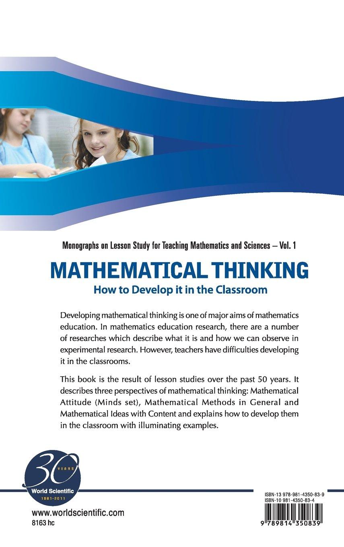 mathematical thinking isoda masami katagiri shigeo