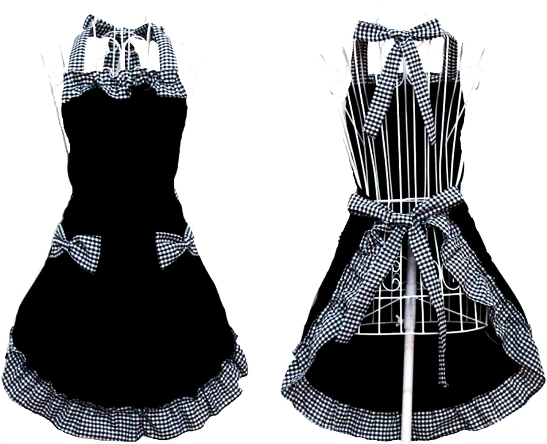 Amazon.com: Hyzrz Cute Retro Lovely Vintage Lady's Kitchen Fashion ...