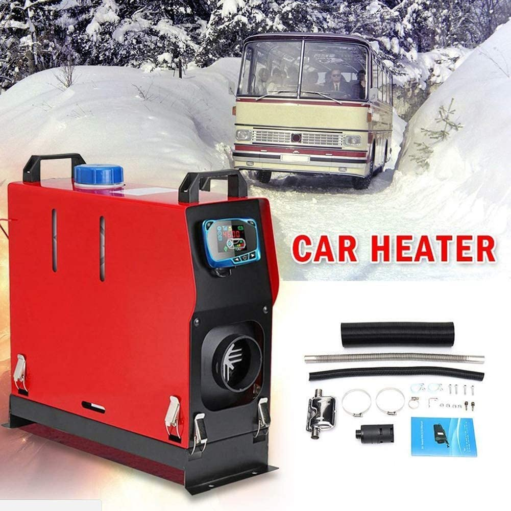 Air Parking Heater Forced Diesel Air Heater Kit 8KW 12V//24V with LCD Thermostat Remote Controller Exhaust Pipe Air Duct Warming Equipment for RV Trucks Boat Car Trailer and More Color : 24V 8000W