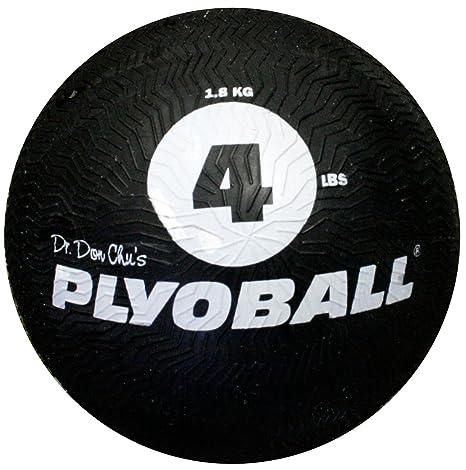 4 Lb tracto agarre no rebote pliométrico balón medicinal pelota ...