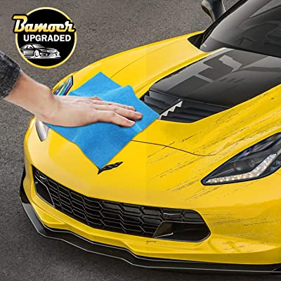 Bamoer [Upgraded Scratch Remover Cloth,Multipurpose Car Paint Scratch Repair Cloth,Car Scratch Removal Cloth,Magic Paint Scratch Remover for Surface Repair,Scuffs Remover,and Strong Decontamin: Automotive