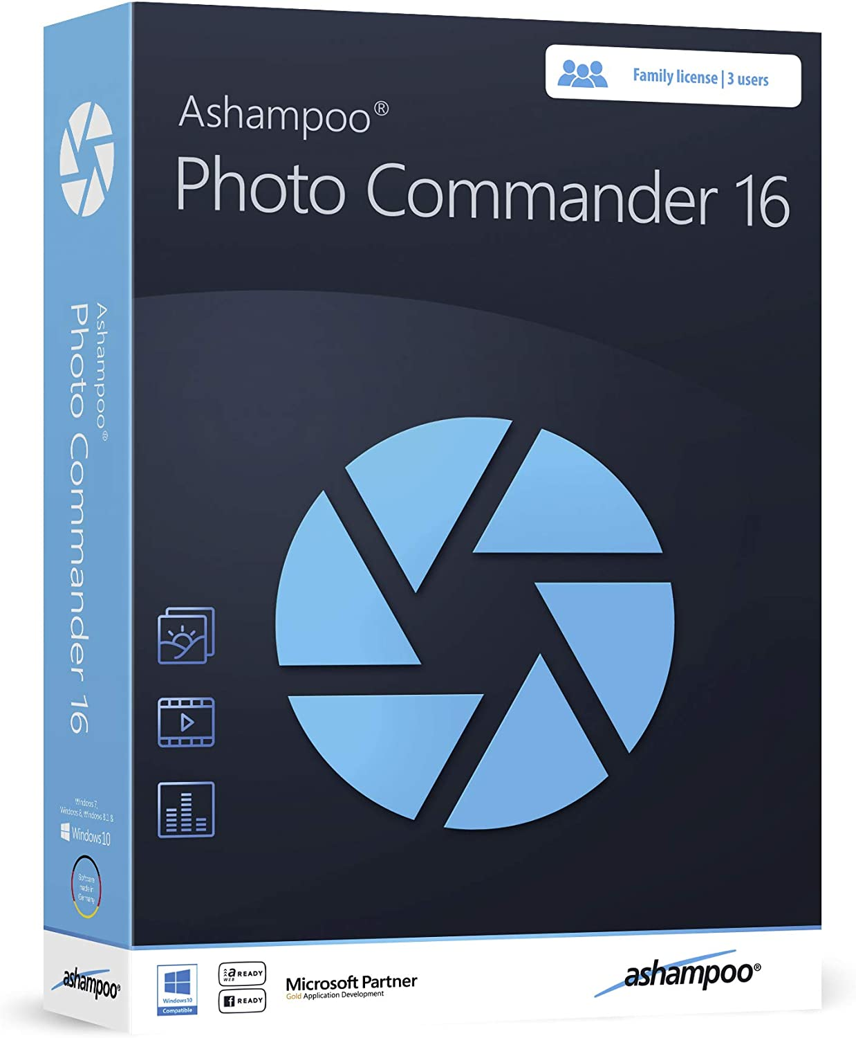 Amazon Com Photo Commander 16 Photo Editing Graphic Design Software For Windows 10 8 1 7 Make Your Own Photo Collages Calendars And Slideshows