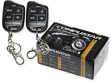 amazon com compustar cs800 s 1 way remote start with 2 4 button rh amazon com compustar cs600s install manual Compustar Remote Start Wiring Diagram