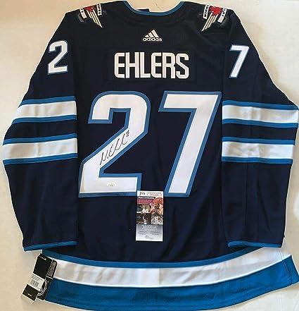 watch ce3e4 cf364 Nikolaj Ehlers Signed Jersey - Adidas Adizero - JSA ...