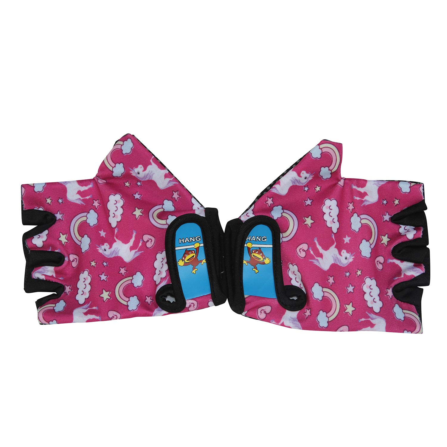 HANG Monkey Bars Gloves with Grip Control for 7 and 8 Years Old Children