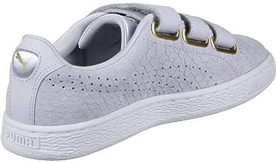 Puma Basket Strap ExoticSkin W chaussures blue: