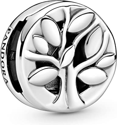 Pandora Jewelry Reflexions Family Tree Clip Sterling Silver Charm