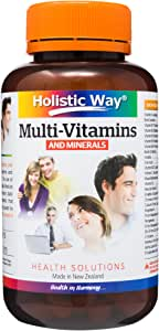HOLISTIC WAY Multi-Vitamins and Minerals, 60 Count