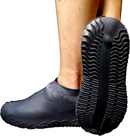 Silicone Overshoes Rain Waterproof Shoe Covers Boot Cover Protector Reusable N