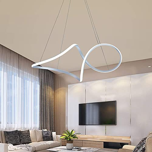 SUNMOO Modern Led Chandelie Pendant Lighting Irregular Not Dimmable Contemporary Led Pendant Light